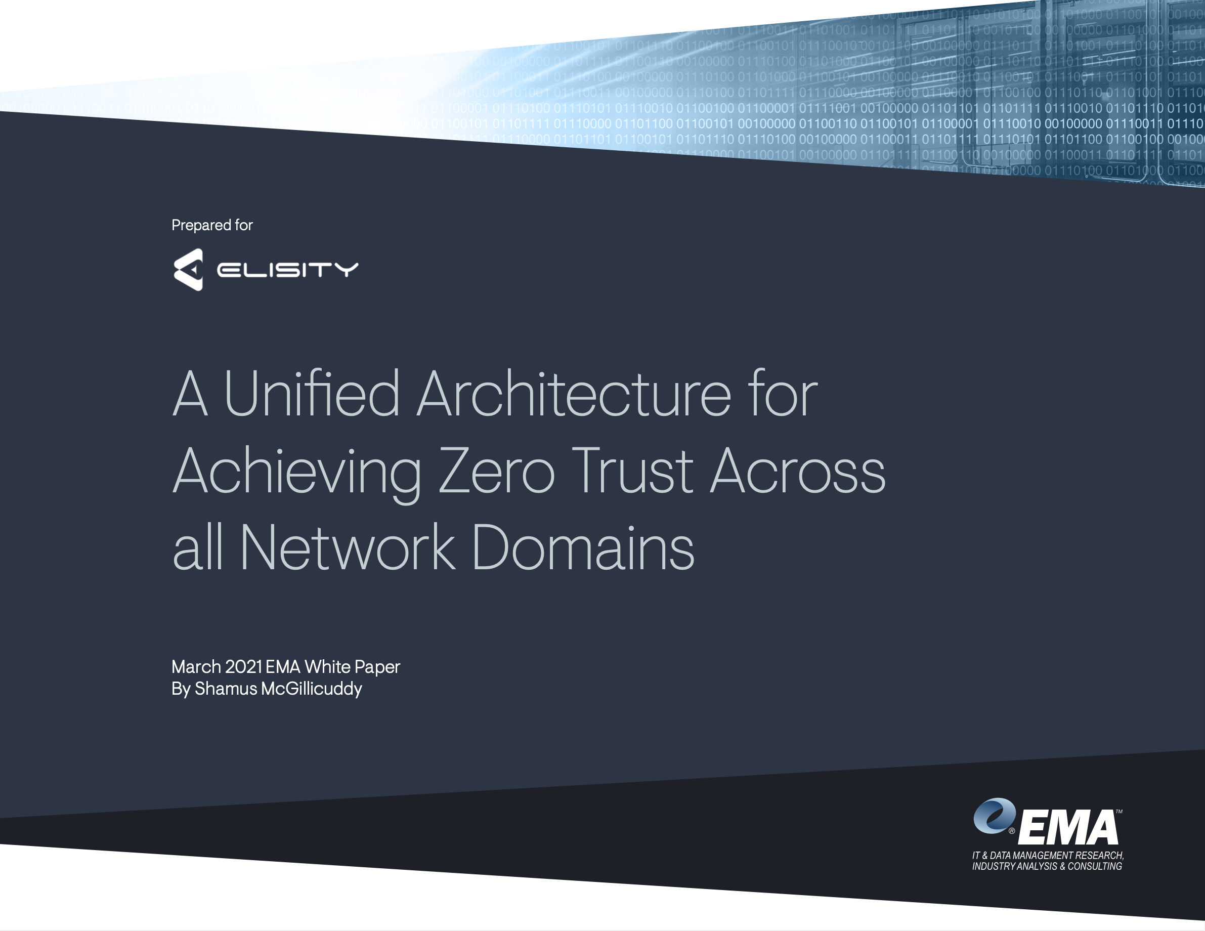 EMA A Unified Architecture for Achieving Zero Trust Across all Network Domains