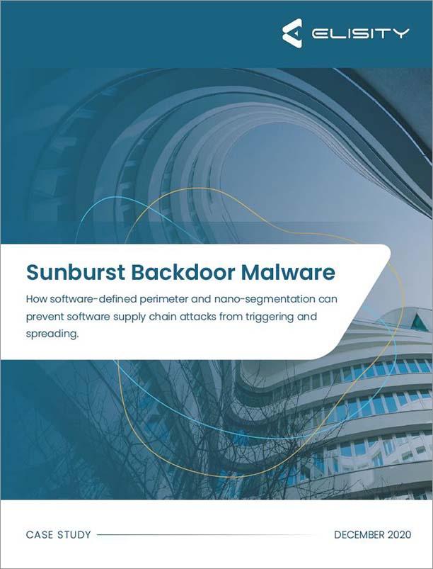 Sunburst_Backdoor_Malware_Case_Study_Cover