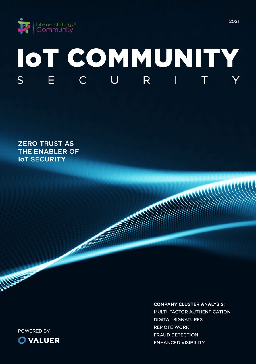 iot community security zero trust iot report